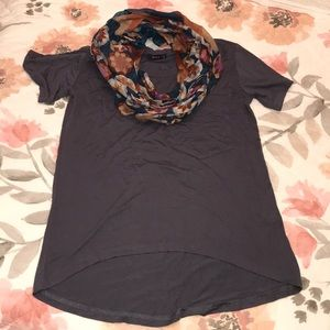 Doublju Women's Loose Fit Size Small Top